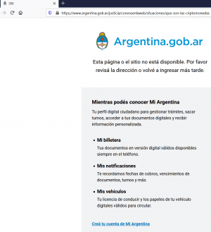 Where Did the Argentinean Government's Guide to Bitcoin and Ethereum Go? 102