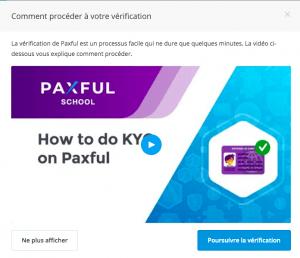 Ouvrir un compte sur Paxful