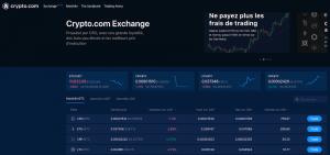 L'échange de Crypto.com est désormais aussi en français