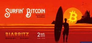 Conférence Surfin' Bitcoin le 2 octobre à Biarritz