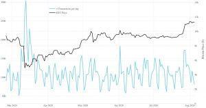 Ballenas Bitcoin usando 2020 para acumular BTC - Investigación 104