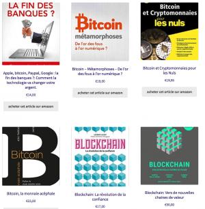 Quelques uns des livres proposés sur blockeduc.fr