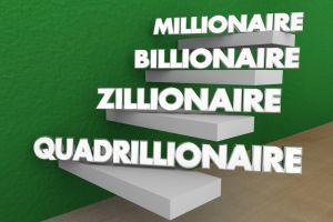 Devenir millionnaire ou milliardaire avec le Bitcoin / Photo Adobe