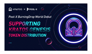 Pool-X Launches BurningDrop, Supporting KTSt Genesis Mining 101