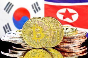 south korea north korea bitcoin