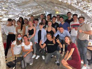 L'équipe de Kryptosphère / Photo: Kryptosphère