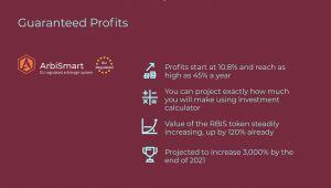arbismart profits