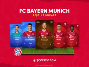 Des footballeurs allemands à collectionner avec Sorare