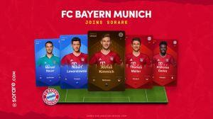 Nền Tảng Kỹ Thuật Số Sorare hợp tác với FC Bayern Munich