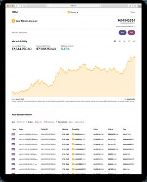 Comment acheter simplement des cryptomonnaies au Québec sur Bitbuy 103