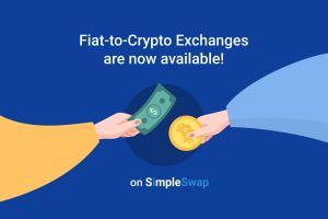 Now it is possible to Buy Crypto with Fiat on SimpleSwap 101