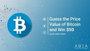 AGEA.Trade: Guess the price value of the Bitcoin and win  101