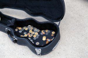 Charities, Buskers & Beggars Aren't Feeling So Festive In Cashless Society 101