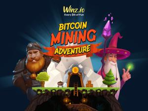 Winz.io تطلق مغامرة تعدين البيتكوين بجائزة كبرى 1... 101
