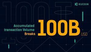 KuCoin's Accumulated Transaction Volume Breaks 0 Billion 101