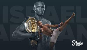 UFC Champion Israel Adesanya Signs Ambassador Deal With Stake.com 101
