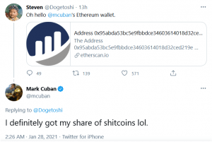 Mark Cuban May Be More Involved with Crypto, 'Shitcoins' than First Thought 102