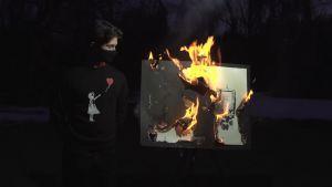 NFT: Kan Burning a Banksy göra det mer värdefullt?  101