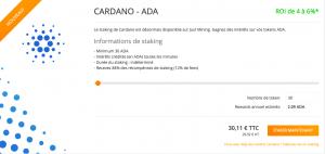 Se lancer dans le staking avec Cardano (ADA) 104