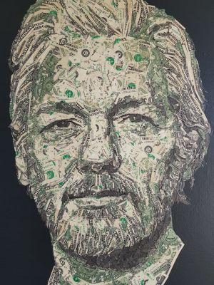 Art: achetez le portrait de Julian Assange en dollars avec du Bitcoin (BTC) 101