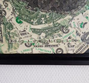Art: achetez le portrait de Julian Assange en dollars avec du Bitcoin (BTC) 102