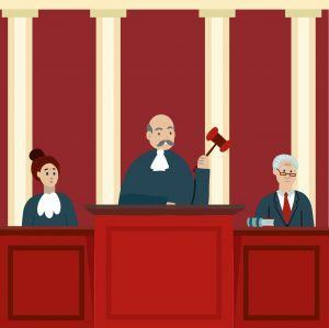 procès tribunal