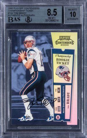 Someone Paid USD 1.7M In Litecoin For Tom Brady Football Card 101