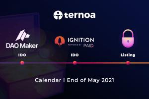 Ternoa annonce son IDO sur Dao Maker et PAID Ignition 101
