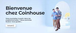 page accueil Coinhouse