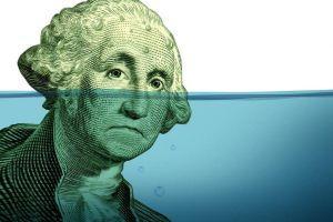 US-dollarns andel av de globala valutareserverna sjunker till 25-årig låg 101