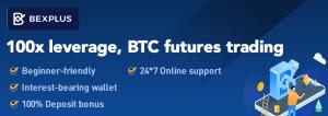 Bexplus offre un trading crypto avec effet de levier de 100x et double le montant de votre... 102