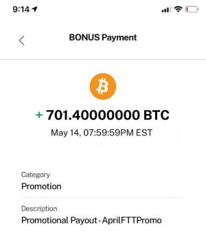 BlockFi Fat Finger Gaffe rõ ràng đã nhìn thấy số BTC được ghi có của người dùng 701 '102