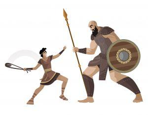 combat David et Goliath