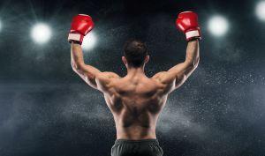 boxeur vu de dos