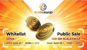 Scaleswap anuncia la apertura de la lista blanca y la fecha de lanzamiento de IDO 101
