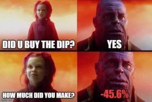 """10 mèmes irrésistibles qui illustrent parfaitement l'expression """"Buy the Dip"""" 107"""