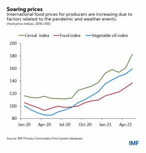 Observación de la inflación: cuatro hechos sobre el alza de los precios de los alimentos 105