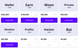 Crypto.com et Unstoppable Domain organisent une vente de noms de domaine 102