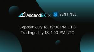 AscendEX Lists Sentinel Token (DVPN) 101
