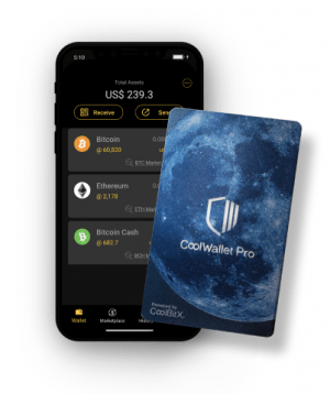CoolWallet Pro: vos cryptos stockées à froid… dans votre poche 101