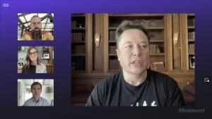 Ce qu'il faut retenir de la conversation entre Musk, Dorsey et Wood 101