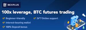 Bexplus Listed ADA: 100X leverage and 100% Deposit Bonus Up to 10 BTC 103