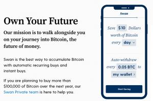 DCA swan bitcoin