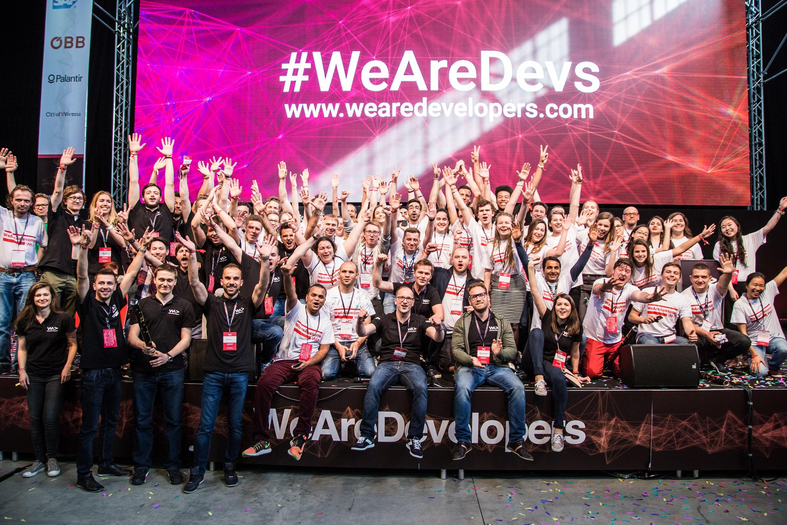 Apple Gründer Steve Wozniak via Live Stream bei der WeAreDevelopers in Wien 0001