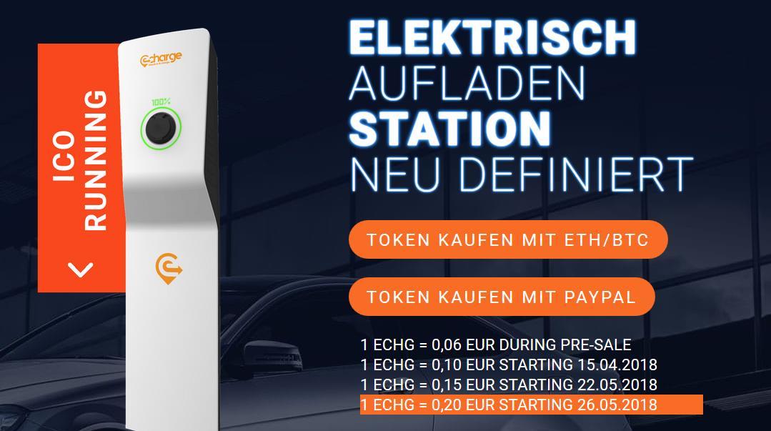 eCharge handelt mit grünem Strom, während Ihr Auto lädt 0001