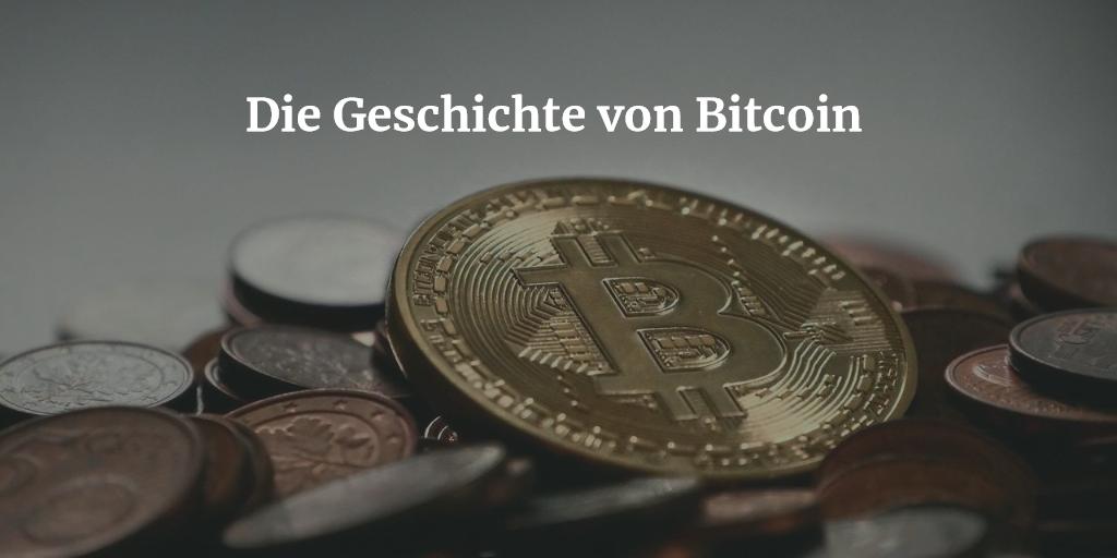 Geschichte von Bitcoin
