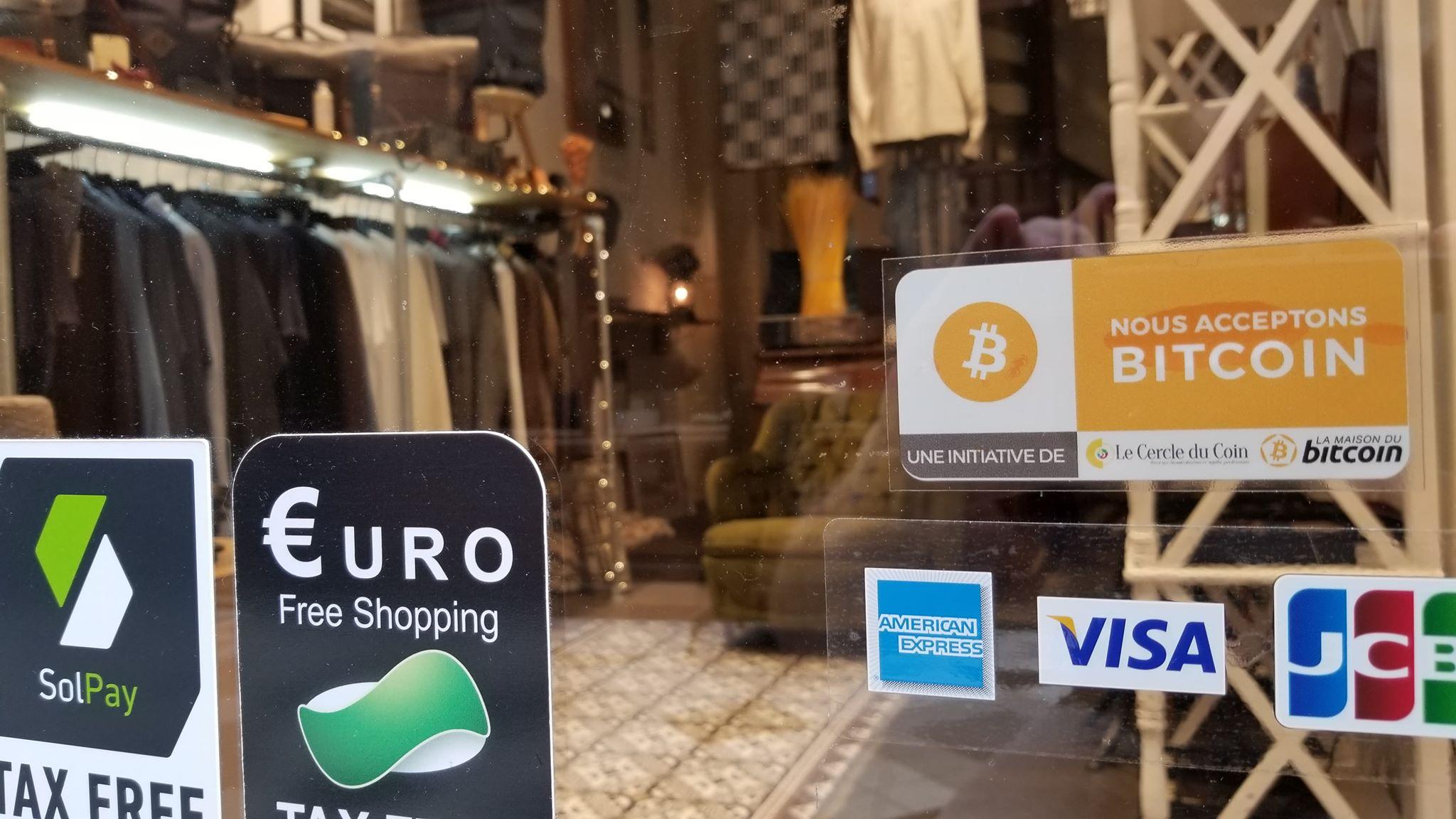 Bitcoin Boulevard: le crypto-shopping en plein coeur de Paris 0001