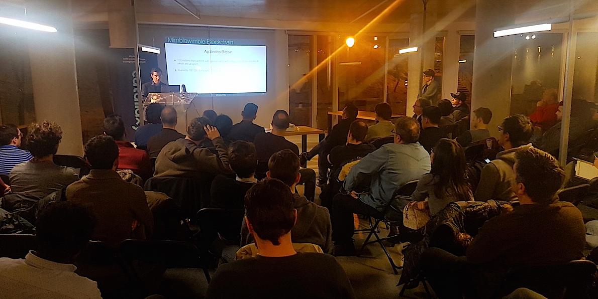 Au cœur de Montréal, la Blockhouse tient son premier Meetup ! 0001