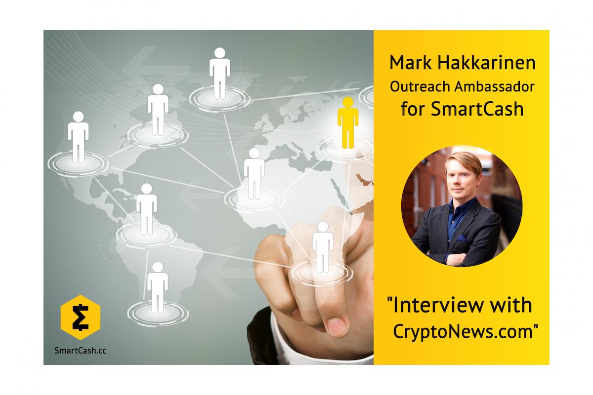 Mark Hakkarinen:Outreach Botschafter für SmartCash 0001
