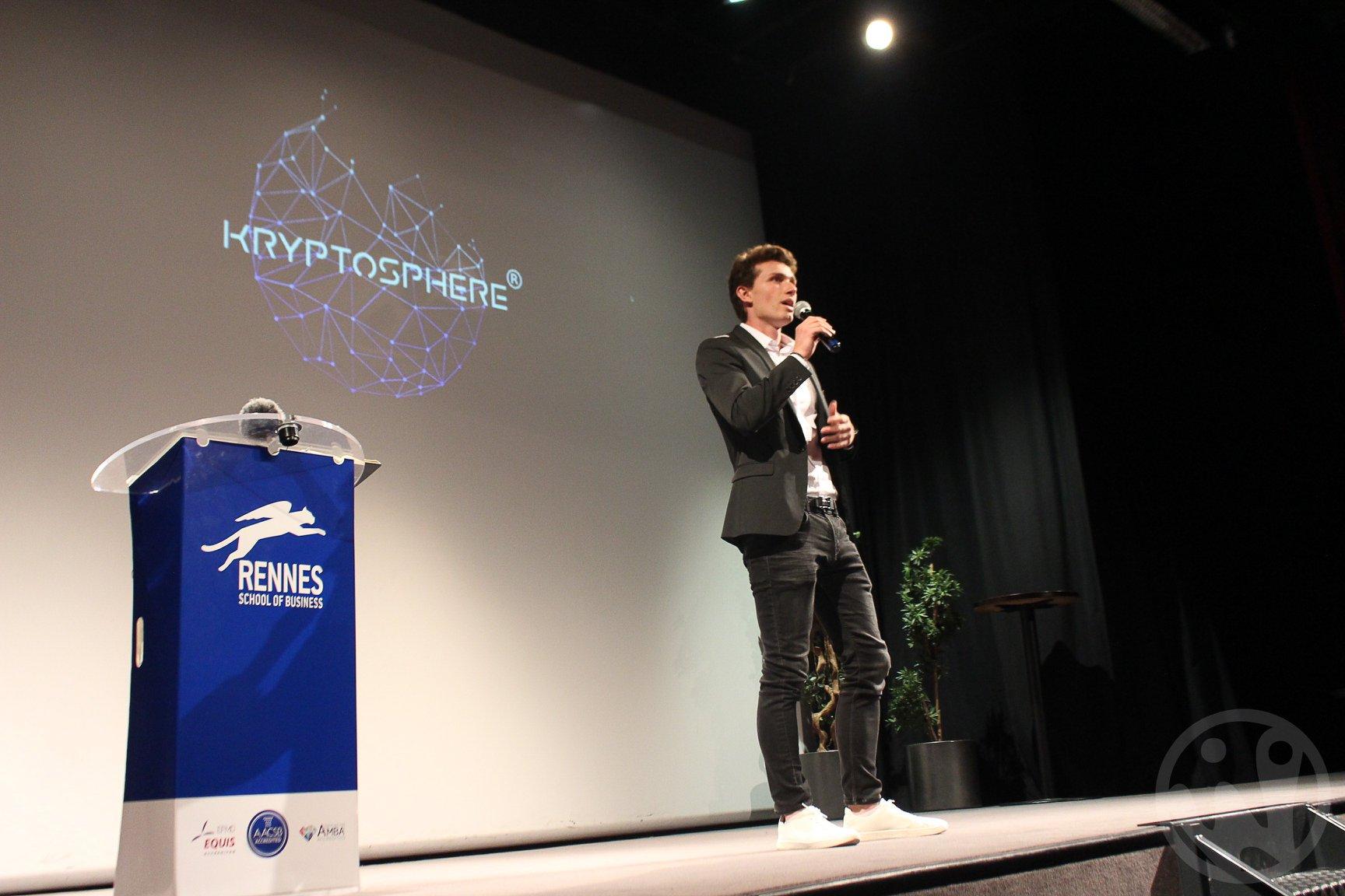 Succès pour la première conférence de KryptoSphere Rennes 0001